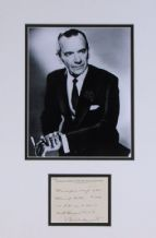 Malcolm Sargent Autograph Signed Display